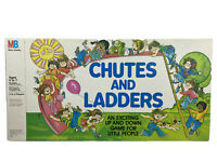 Vtg 1979 Chutes and Ladders Board Game - Complete - Milton Bradley NO 4055