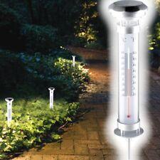 Garten Thermometer Gabel Gusseisen NEU Harke Gartendeko