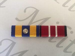 Ribbon Bar, Defence Force Service Medal with 1 Rosette + Aust Defence Medal.