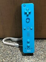 Blue Teal Official OEM Nintendo Wii Remote Controller RVL-003 - Tested Working