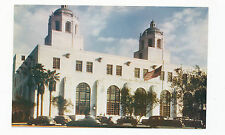 A7398 1950 MIKE ROBERTS POSTCARD LOS ANGELES CA C207 POST OFFICE