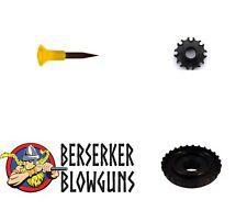 25  - .40 cal Blowgun Spike Darts with 8 Pt Quiver & Dart Guard from Berserker B