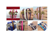 Unbranded Leather Alloy Fashion Jewellery