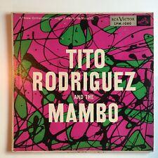 TITO RODRIGUEZ AND THE MAMBO Orig 1955 MONO RCA LPM-1080 Vintage NYC LATIN