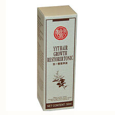 3x YYT Hair Growth Herb Restorer Tonic Hair Loss Alopecia 50ml Zhangguang 101G