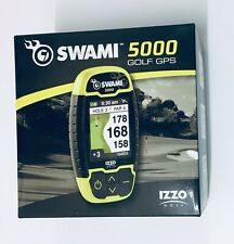 Izzo Swami 5000 Golf GPS- Improved Design With New Enhancements - (Black/Yellow)