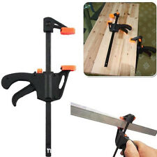4 inch Plastic Woodworking Hard Grip Gadget Vise Quick Release Bar Clamp Tool