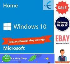 Original Windows 10 Home 32/64BIT Genuine License Key Digital Download