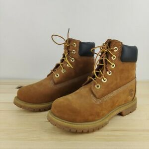 Timberland 6 inch Yellow Boots