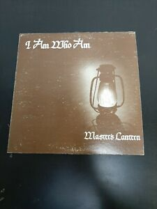 Record Vinyl Rare Christian Rock Master's Lantern I am Who I am Signed