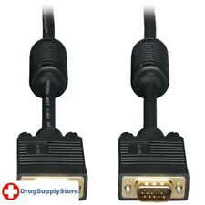 PE SVGA High-Resolution Coaxial Monitor Cable with RGB Coaxial (6ft)