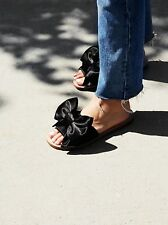 Free People Bow Tie Slip On Sandles  By Jeffrey Campbell Size  10