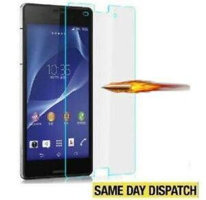 100% Genuine Tempered Glass Film Screen Protector for Sony Xperia Z3 &Package