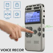 64g wiederaufladbaren lcd digital HD-audio sound voice recorder diktiergerät DE