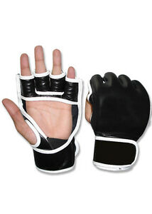 WOLDORF USA MMA Grappling Training Gloves Top Grade Genuine Cowhide Leather