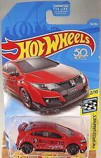 2018 Hot Wheels #126/365 HW Speed Graphics 2/10 16 HONDA CIVIC TYPE R Red wPr5sp