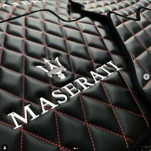 Custom Floor Mats - Maserati - ALL MODELS Granturismo | Quattroporte | Ghibli |+