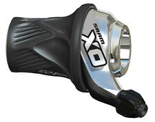 SRAM X0 2x10 Speed Front (Left) Twist Grip Shifter X.0 XO - Black/Silver