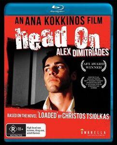 Head On (Blu Ray) Brand New / Sealed - Region A,B,C - Alex Dimitriades