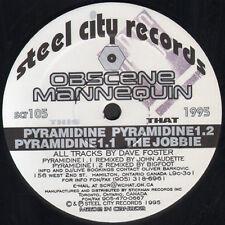 OBSCENE MANNEQUIN  - Pyramidine - 1995 Steel City Can - SCR-105