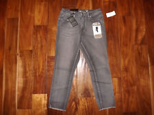 NWT Womens SEVEN 7 Hamilton Gray Wash High Rise Skinny Denim Ankle Jeans 12 $69
