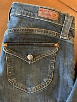 Adriano Goldenshmeid AG the Stilt Style Blue Jeans sz 26R New without Tags