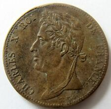- Colonie - Charles X - 5 CENT - 1825 A -