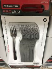 Lot Of 36ct Tramontina Proline Stainless Steel Dinner Forks Free Shipping