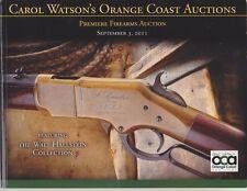 Carol Watson's Orange Coast Auctions-Premiere Firearms Auction Sept. 3, 2011