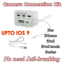 iOS 9 Type C iphone ipad HUB Reader camera connection OTG Micro SD USB curicode