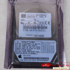 "TOSHIBA 40 GB HDD (MK4025GAS) IDE 4200 RPM 2.5"" 8 MB Hard Disk Drive Free ship"