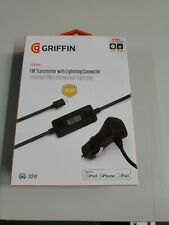 Griffin iTrip Auto FM Transmitter With Lightning Connector For iPhone 6,7,8,X 11