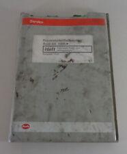 Manual de Taller Audi A4 B5 Suspensión Impulsión + Quattro Desde 1995 Stand 1997