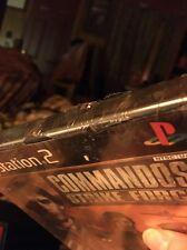 Brand New Sealed....Commandos: Strike Force (Sony PlayStation 2, 2006)