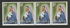 RHODESIA - 1977 - 8C CHRISTMAS STAMP - (1V) - MNH - HORIZONTAL STRIP OF 4