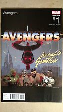 AVENGERS #1 1ST PRINT ACUNA HIP HOP VARIANT MARVEL COMICS (2016) SPIDER-MAN