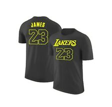 Camiseta Hombre t-shirt men 23 Lakers Lebron James Los Angeles Lakers nba