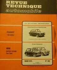 Neuve de stock !!!!! Revue technique AUSTIN MINI BRITISH LEYLAND RTA 343 1975