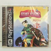 Disney's Mulan Interactive Adventure Sony PlayStation