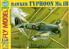 Card Model Kit – Hawker Typhoon Mk.I B