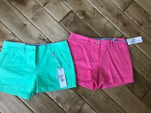 Lot of 2 NWT! Southern Tide Womens Shorts Size 00 Originally $65.00 each