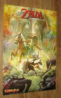 The Legend of Zelda Twilight Princess & Dead or Alive rare small Poster 41x28cm
