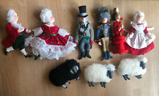 GLADYS BOALT Ornaments LOT of 9 From The '80's