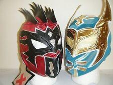 KALISTO & SIN CARA KID CHILDRENS HEAD WRESTLING MASK WWE FANCY DRESS UP COSPLAY