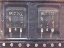 BUZ102S / TRANSISTOR / TO263  SURFACE MOUNT / 2 PIECES (qzty)