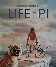 Ang Lee Signed 10x8 Photo - Life of Pi