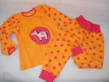 Kinder Schlafanzug, Jako-O, Pferd, orange/pink, Hose+Oberteil, Gr.92/98 *NEU*