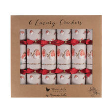 Set of 6 Wrendale Designs Luxury Christmas Crackers – Duck and Robin Xmas Gift