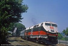 Original Photograph: Metro-North GE Genesis 229 arr Peekskill IB