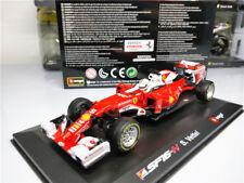 BBurago 1:32 F1 Ferrari Team SF16 H No.5 Vettel Racing Model 2016